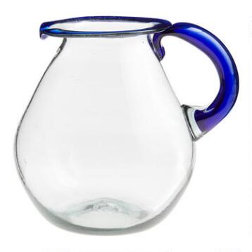Blue Rocco Margarita Pitcher